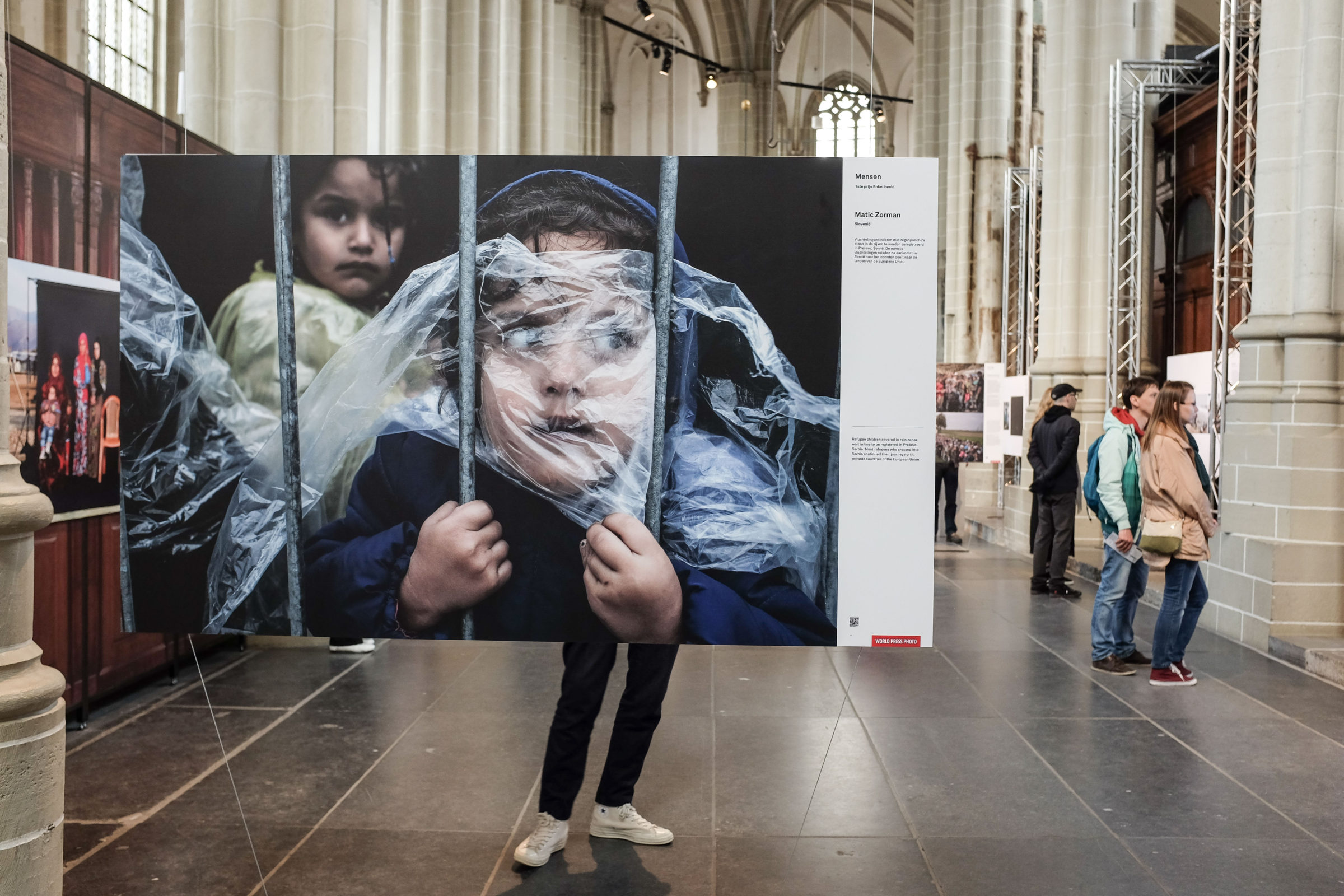 Vluchtelingen is het grote thema bij de World Press Photo 2016 in Amsterdam