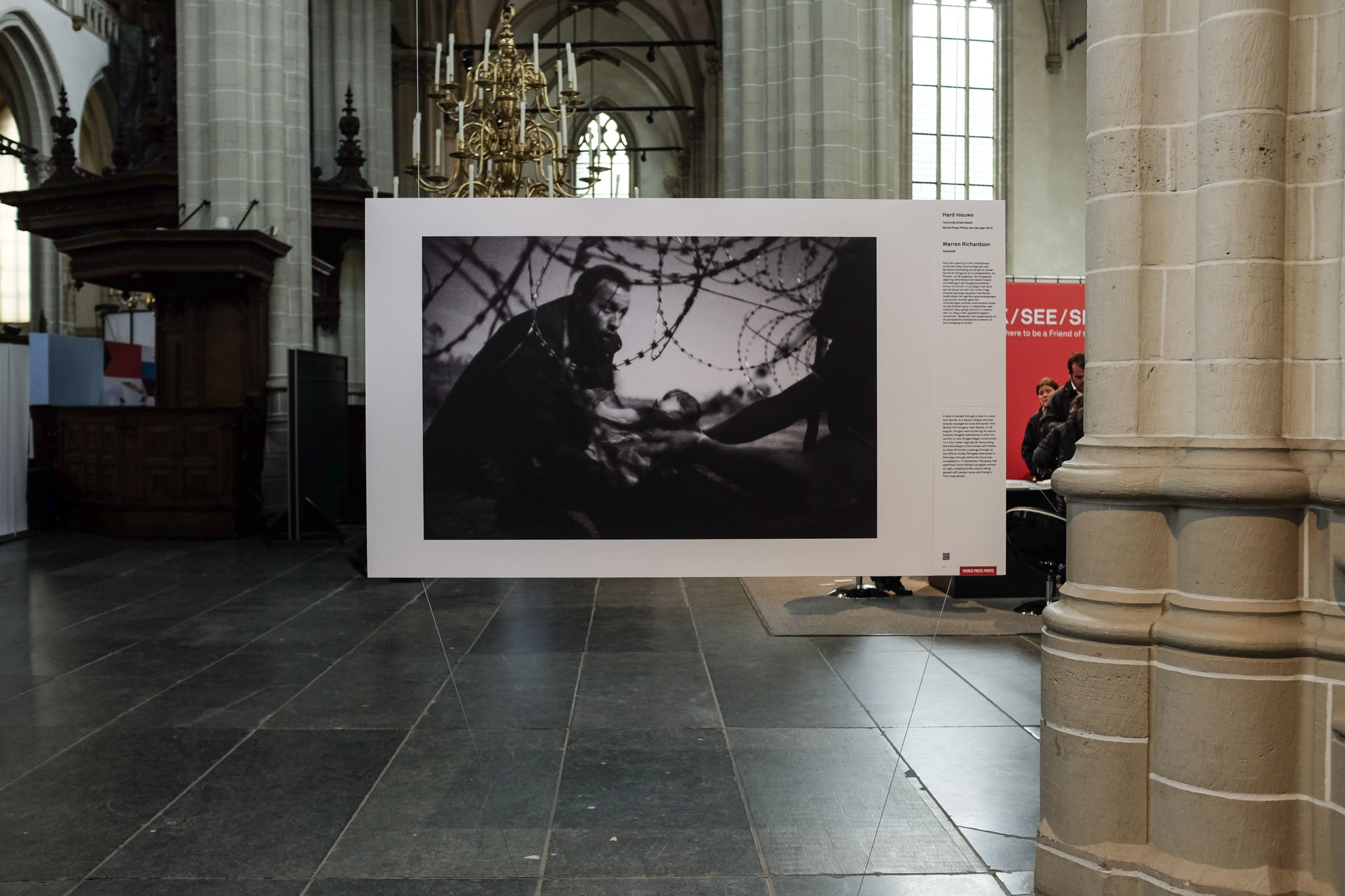 Winnaar World Press Photo 2016 - Warren Richardson